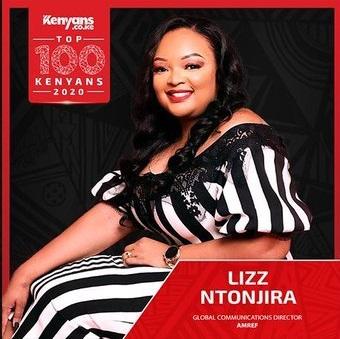 Lizz Ntonjira - Top 100 Kenyans 2020