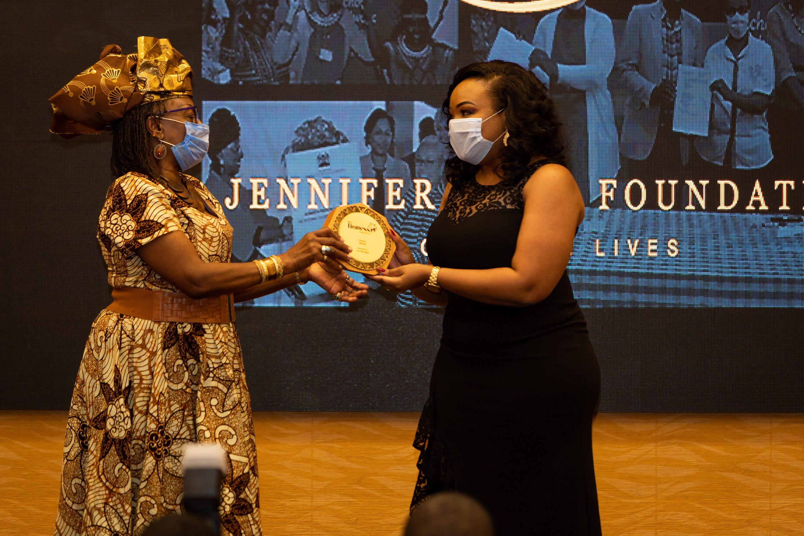 Lizz Ntonjira among five women awarded in inaugural Lioness Awards