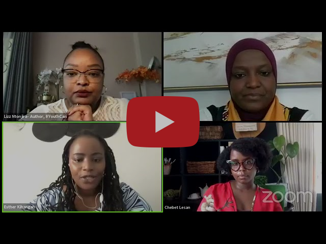 Webinar: American Spaces Kenya hosts four iconic women to mark the Women's History Month